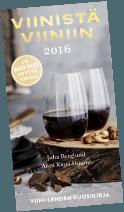 Viinistä viiniin 2016 -kirjan kansi