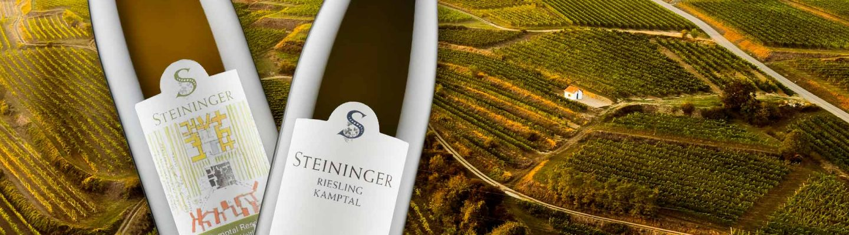 Steininger Riesling ja Steininger Reserve Ried Loisium Grüner Veltliner maistuvat suomalaiseen suuhun