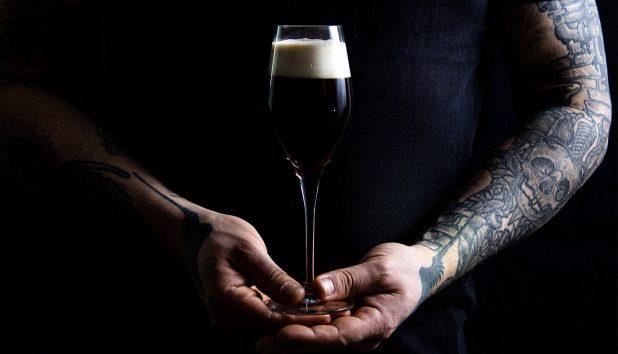 Portviini-kahvicocktail