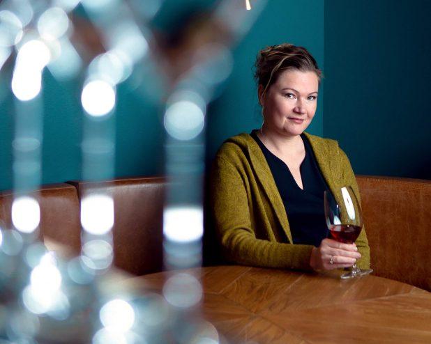 Master of Wine -opiskelija Liisa Huttu-Hiltunen
