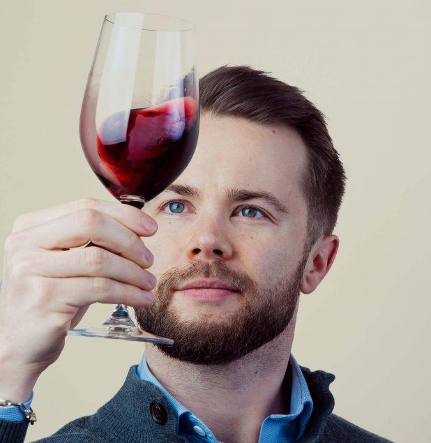 Master of Wine -opiskelija Robin Salmi