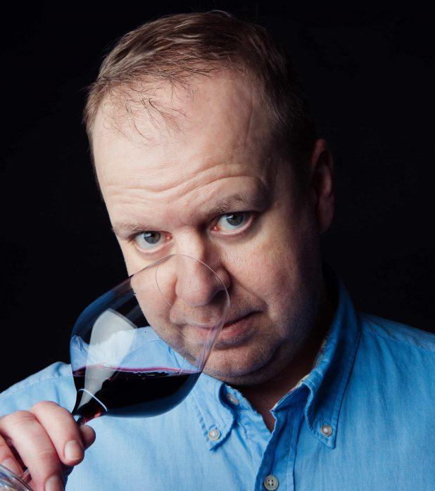 Master of Wine -opiskelija Teemu Rinta-Mänty