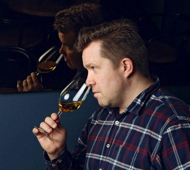 Master of Wine -opiskelija Tomi Naarvala