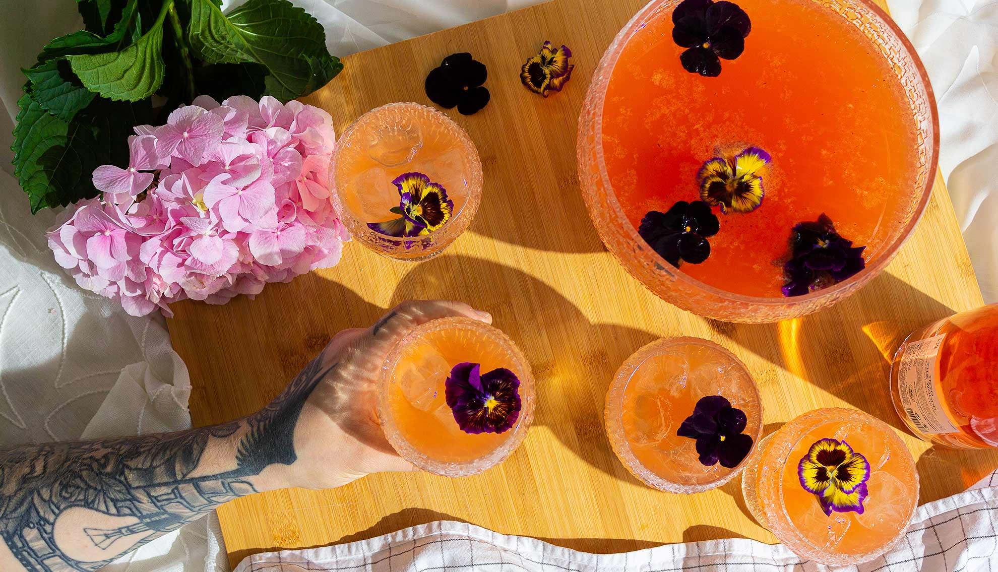 Roseviinicocktail