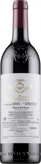 Vega-Sicilia 'Único' 2003