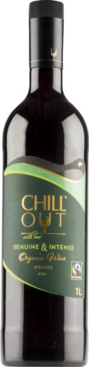 Chill Out Genuine & Intense Malbec muovipullo 2016
