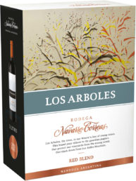 Navarro Correas Los Arboles Red Blend hanapakkaus 2017