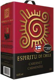 Espíritu de Chile Cabernet Carmenère  hanapakkaus