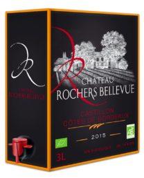 Château Rochers Bellevue hanapakkaus 2015