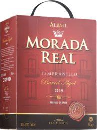 Viña Albali Morada Real Tempranillo Organic hanapakkaus 2016