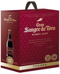 Torres Gran Sangre de Toro Barrel Aged hanapakkaus 2013