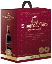Torres Gran Sangre de Toro Barrel Aged hanapakkaus 2015