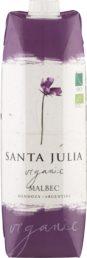 Santa Julia Organic Malbec kartonkitölkki 2016