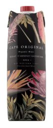 Cape Original Shiraz Cabernet Sauvignon Organic kartonkitölkki 2014