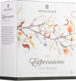 McGuigan Expressions Chardonnay hanapakkaus 2015