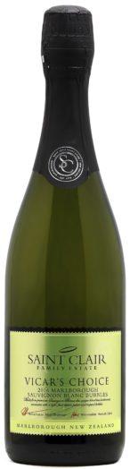 Saint Clair Vicar's Choice Sauvignon Blanc Bubbles Brut 2015