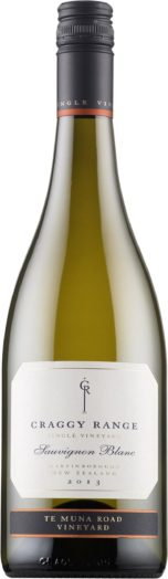 Craggy Range Te Muna Road Vineyard Sauvignon Blanc 2013