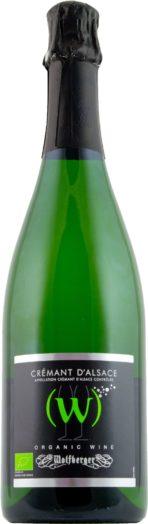 Wolfberger (W) Crémant d'Alsace Organic Brut