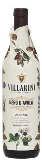 Villarini Nero d'Avola Organic 2017