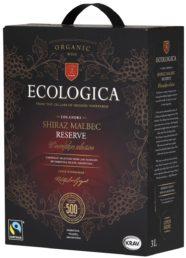 Ecologica Organic Shiraz Malbec Reserve hanapakkaus 2018