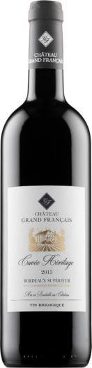 Château Grand Francais Rouge 2015