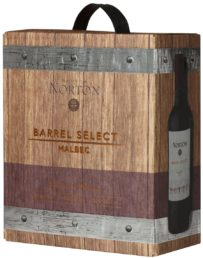 Norton Barrel Select Malbec hanapakkaus 2014