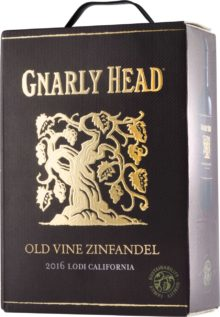 Gnarly Head Old Vine Zinfandel hanapakkaus 2016